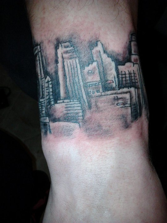 Minneapolis skyline - Tattoos By the Best for the Best!!