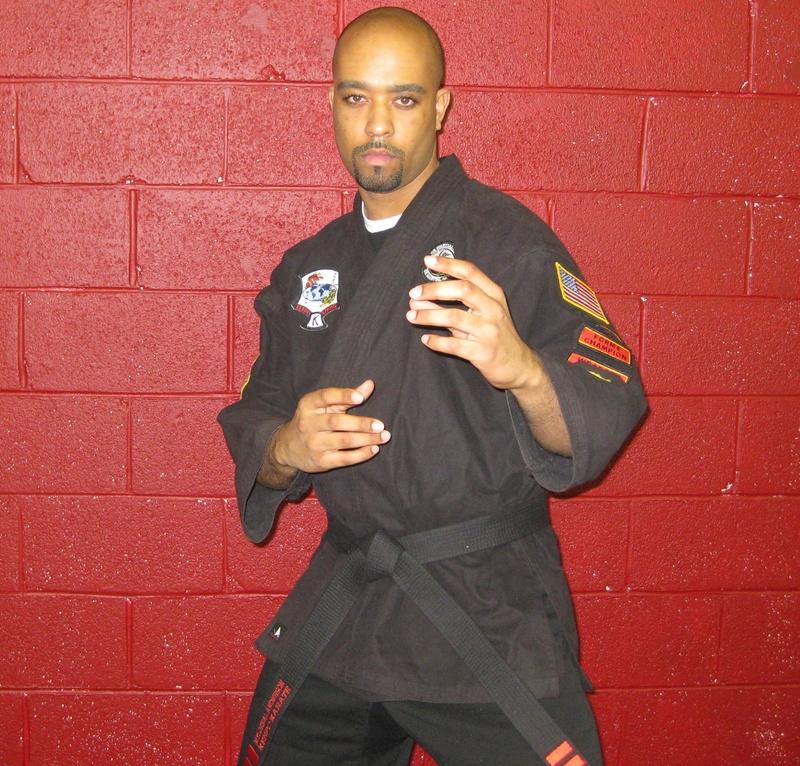 Myloreal Anderson kenpo 3rd Degree Black Belt