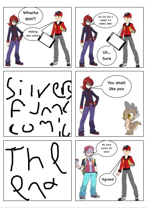 Silver's glorious comic