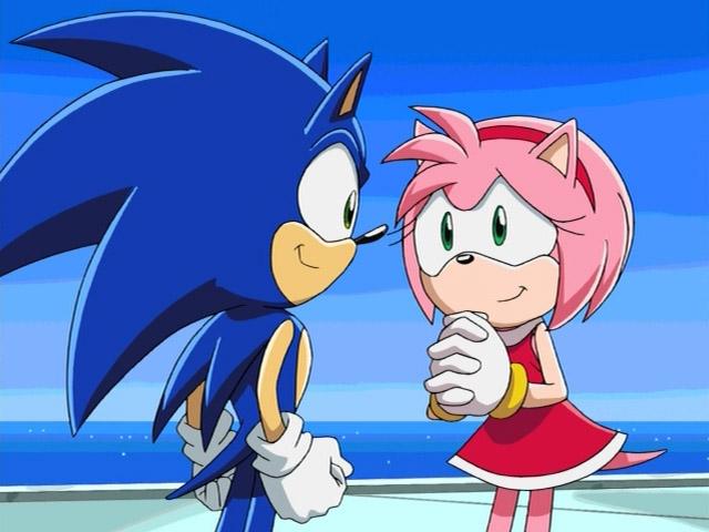 Amy Rose Sonic X Screenshots