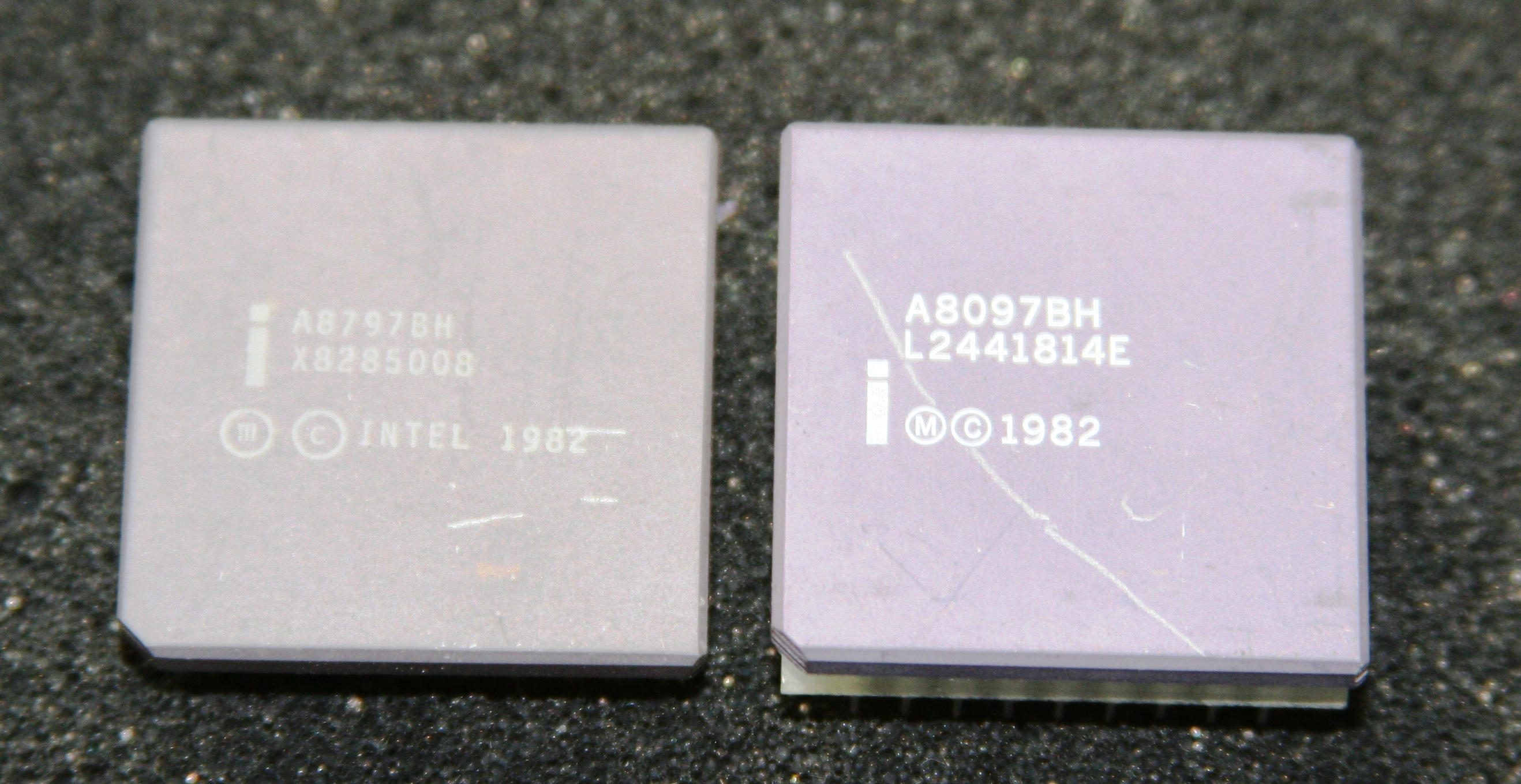 Processor 8097 & 8797 top view