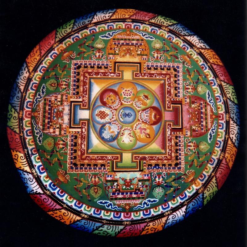 Mandala dark Background