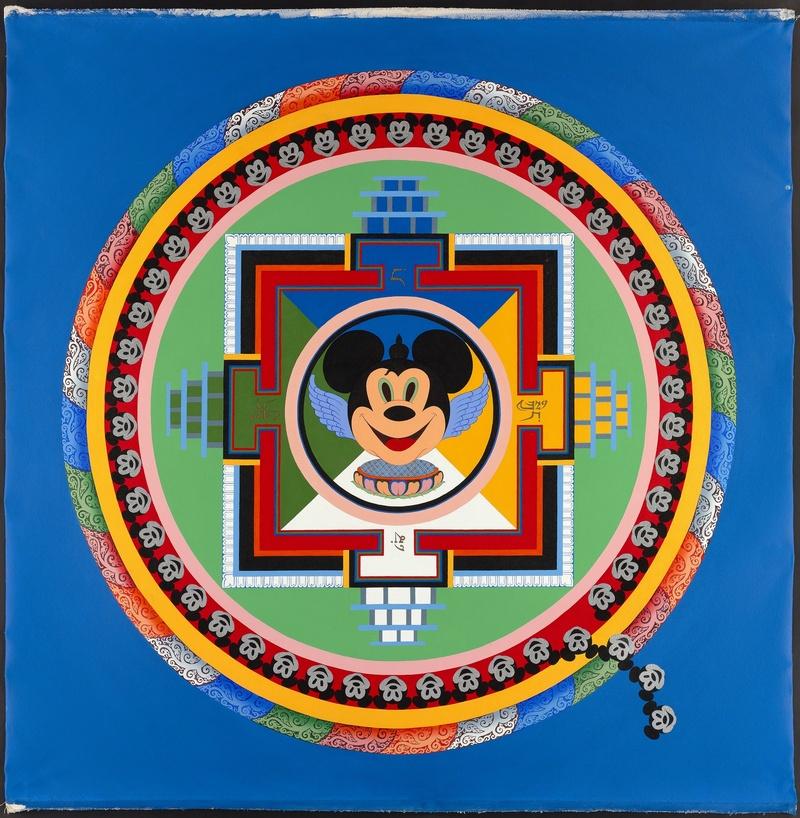 Mickey Mouse Mandala