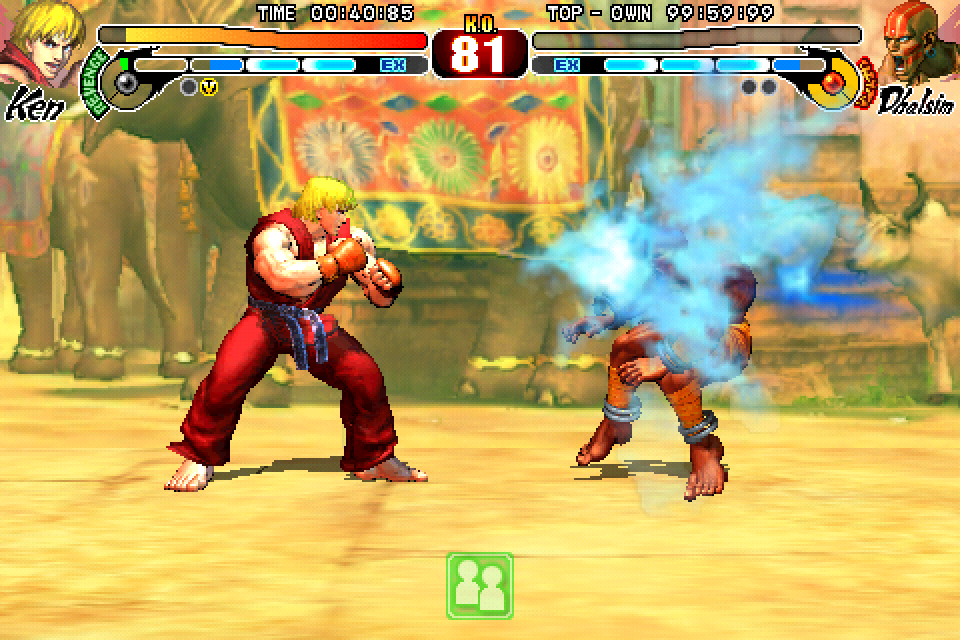 Street Fighter IV - iPhone