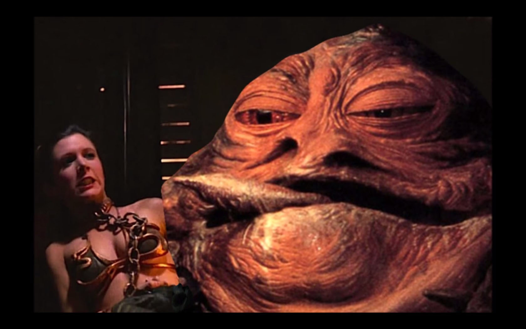 jabba and leia drool and discuss - Pokemon Go Search for ... Jabba The Hutt And Leia Fanfiction
