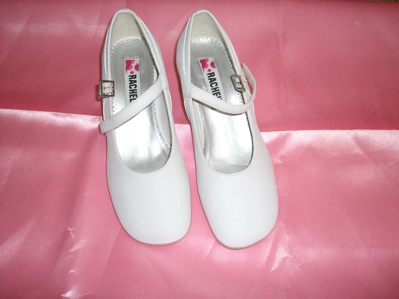 white pageant shoes sz 4m 9 used pattra s pageant closet