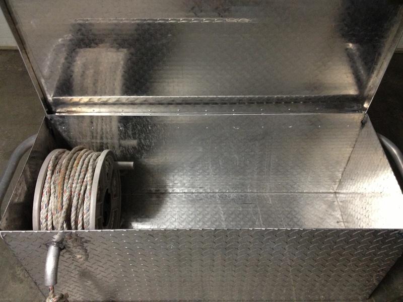 Locking storage box