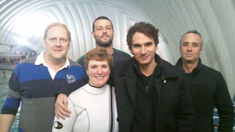 Alex on the Set of Redesign My Brain w/ Todd Sampson