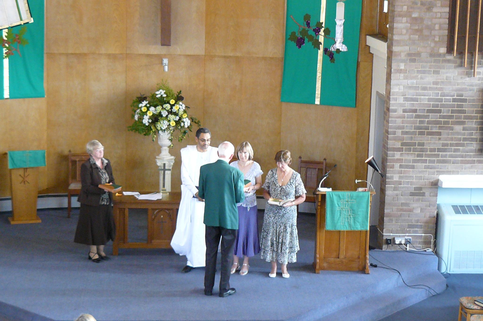Local Preacher recognition service 2010
