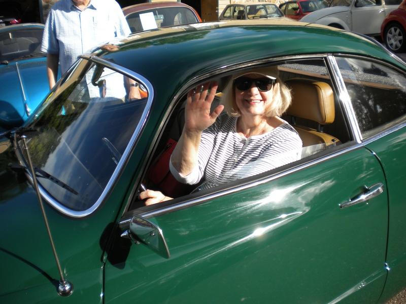 1973 Karmann Ghia for the Green's!!