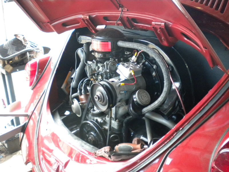 1963 Ruby Red Beetle1600 Engine