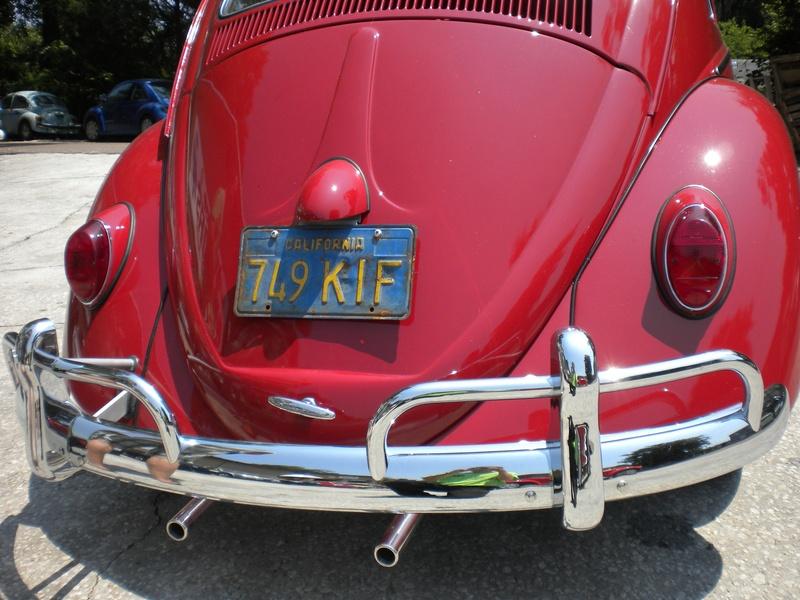 """Ruby"" 1963 VW Beetle Restored by Hilltop!"