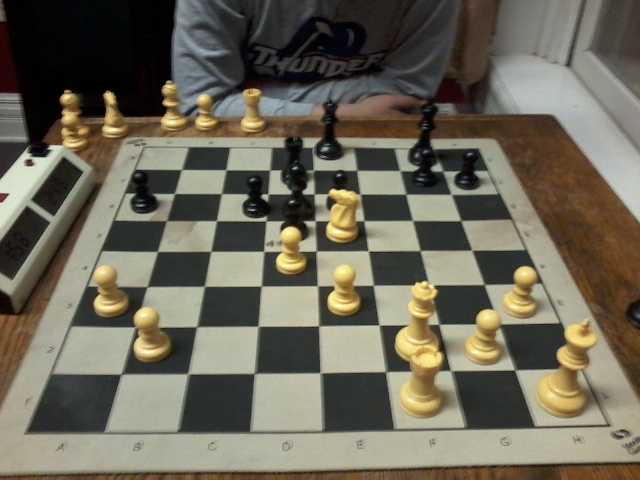 Casual Chess Night, September 2013