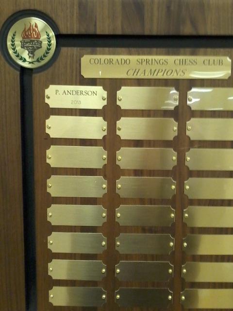 2013 Colorado Springs City Champion