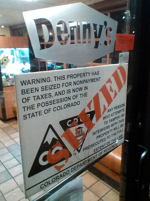 Demise Of Denny's