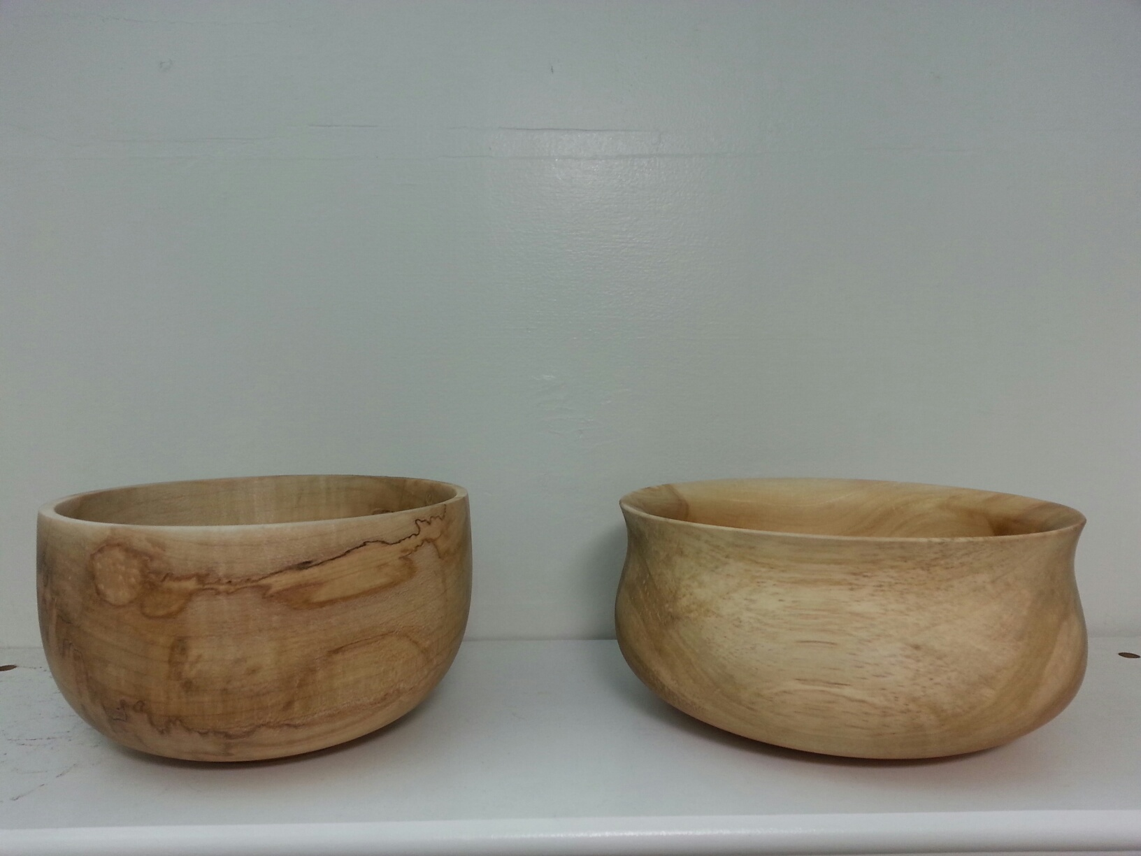 Spalted Maple bowls