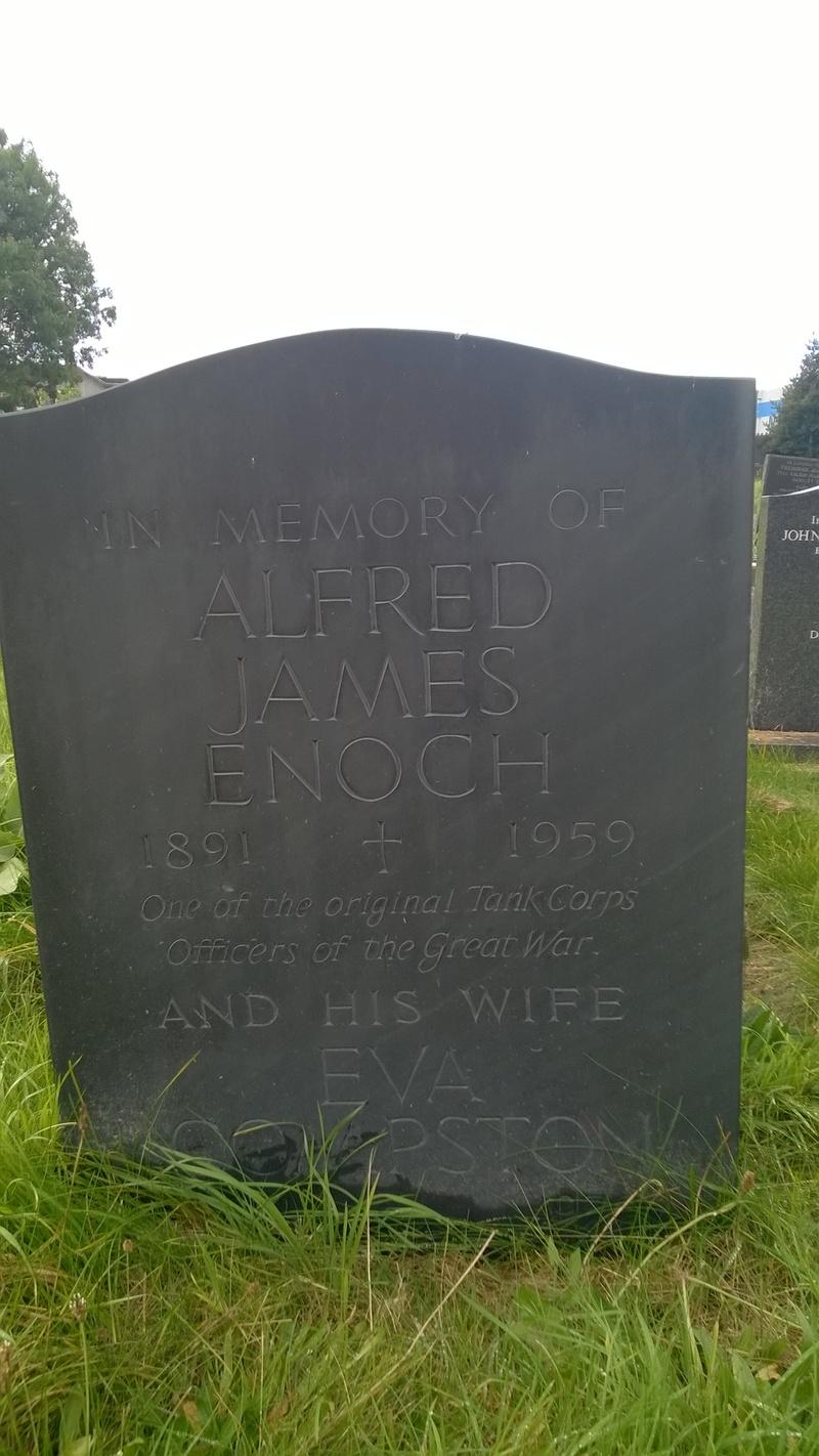 Capt Alfred James Enoch M.C. Commander D7