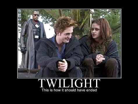Twilight meets Blade - worldoffunnystuff