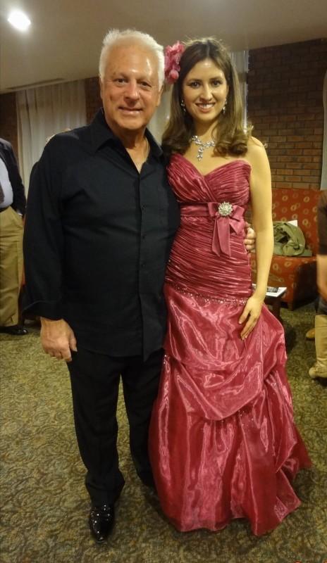 Mr. Angel Romero and soprano Julia Torgovitskaya.
