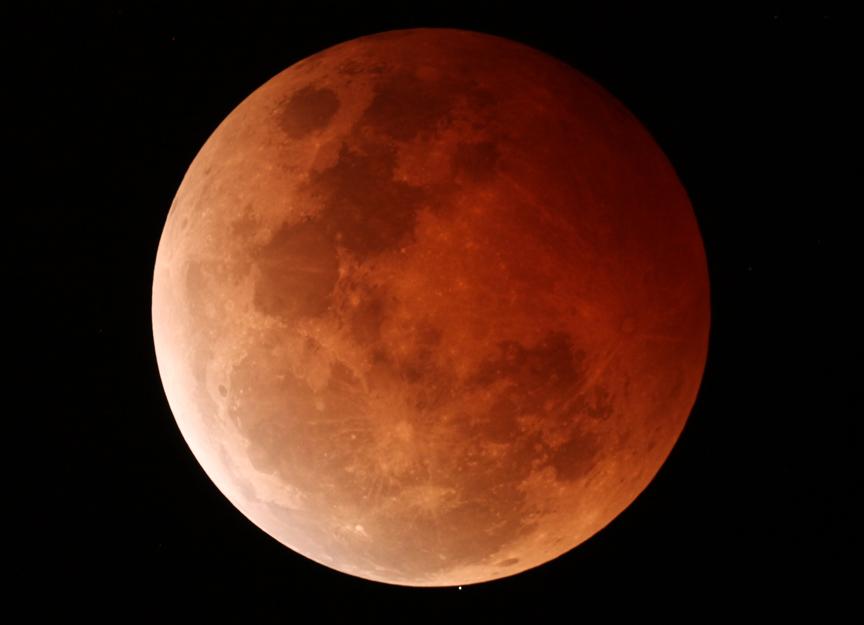 Lunar eclipse  and occultation 8-10-14