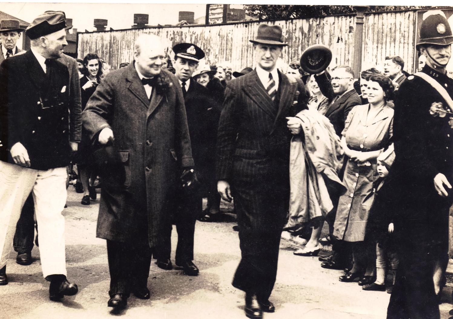 Churchill's Visit