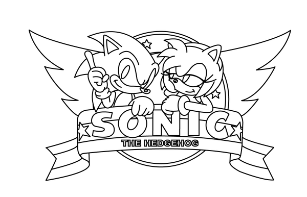 Amy Rose Coloring Pages  odkazodvas