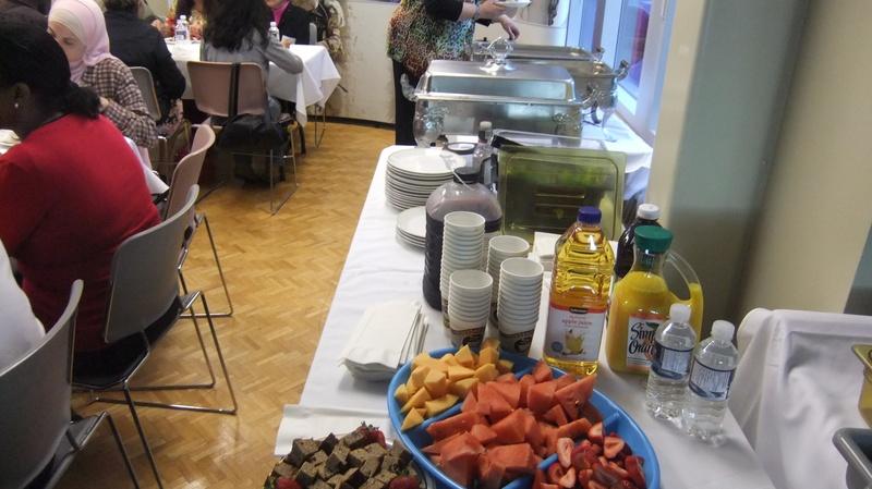 Rays food display