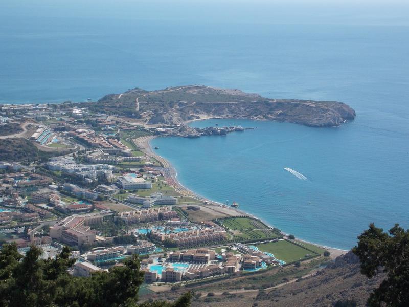 Tsampika pogled iz manastira
