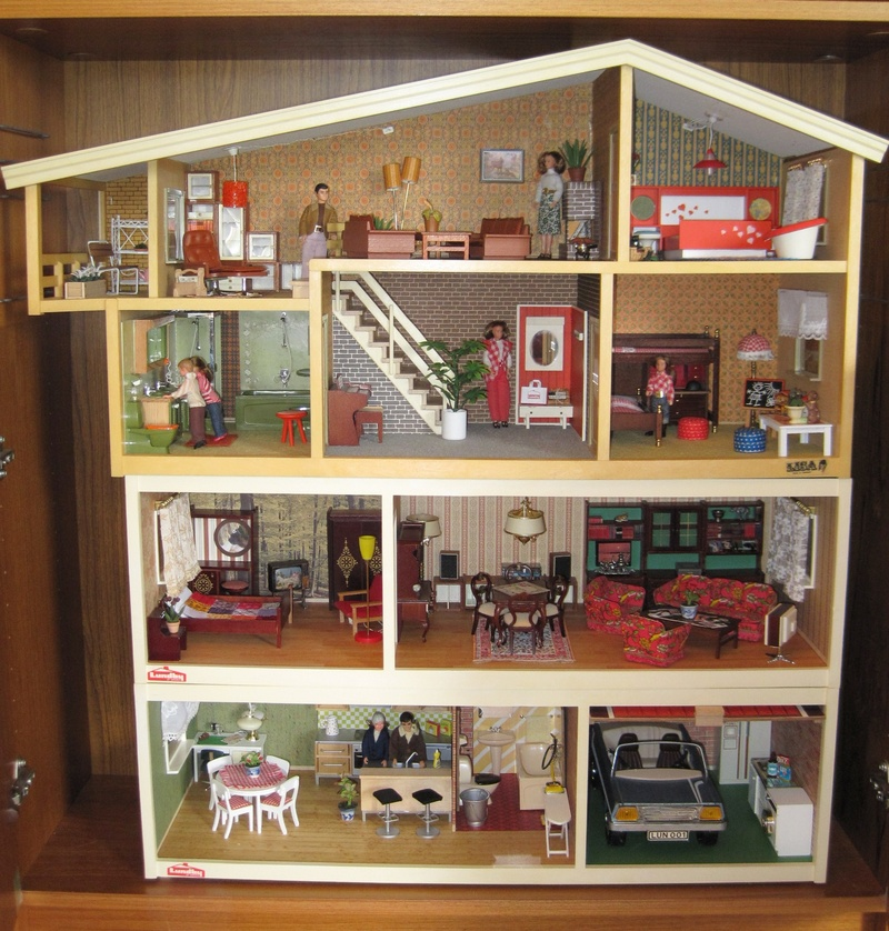 70s Lisa Dollhouse On Lundby Extensions Dolls Houses Past Present