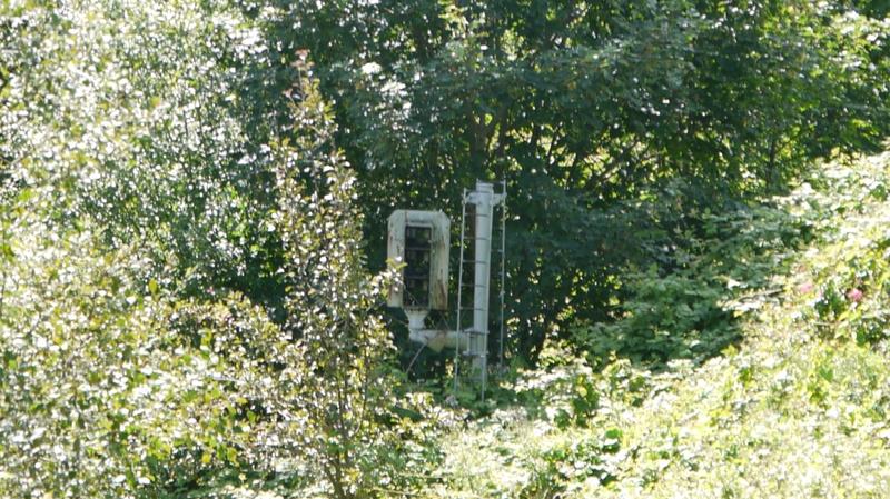 Old colour light post still in situ