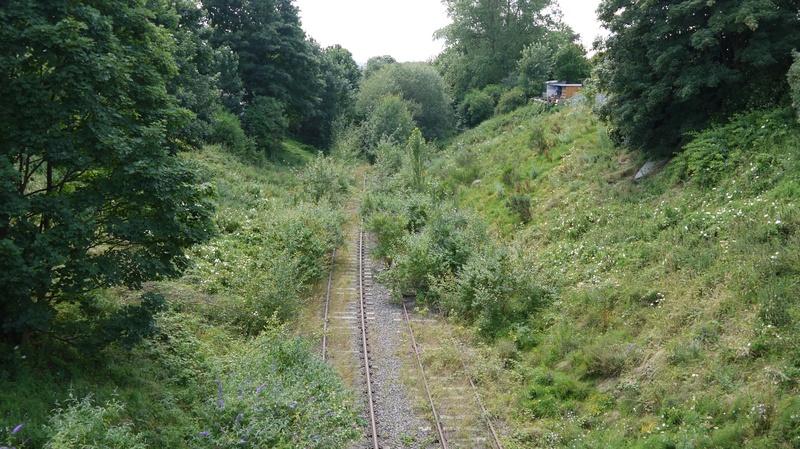 Line towards Bescot curve
