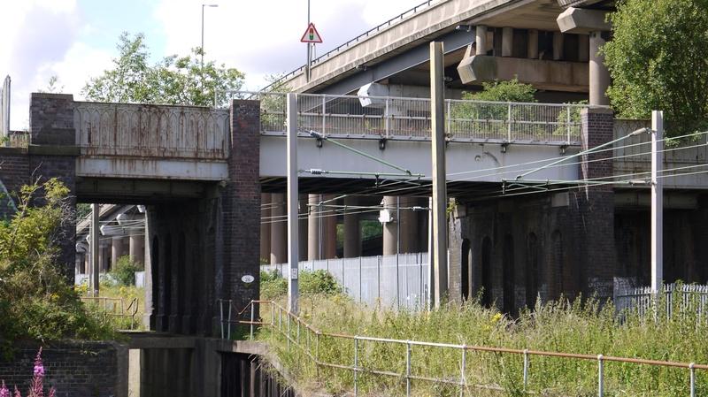 Bridge over West Coast Main Line