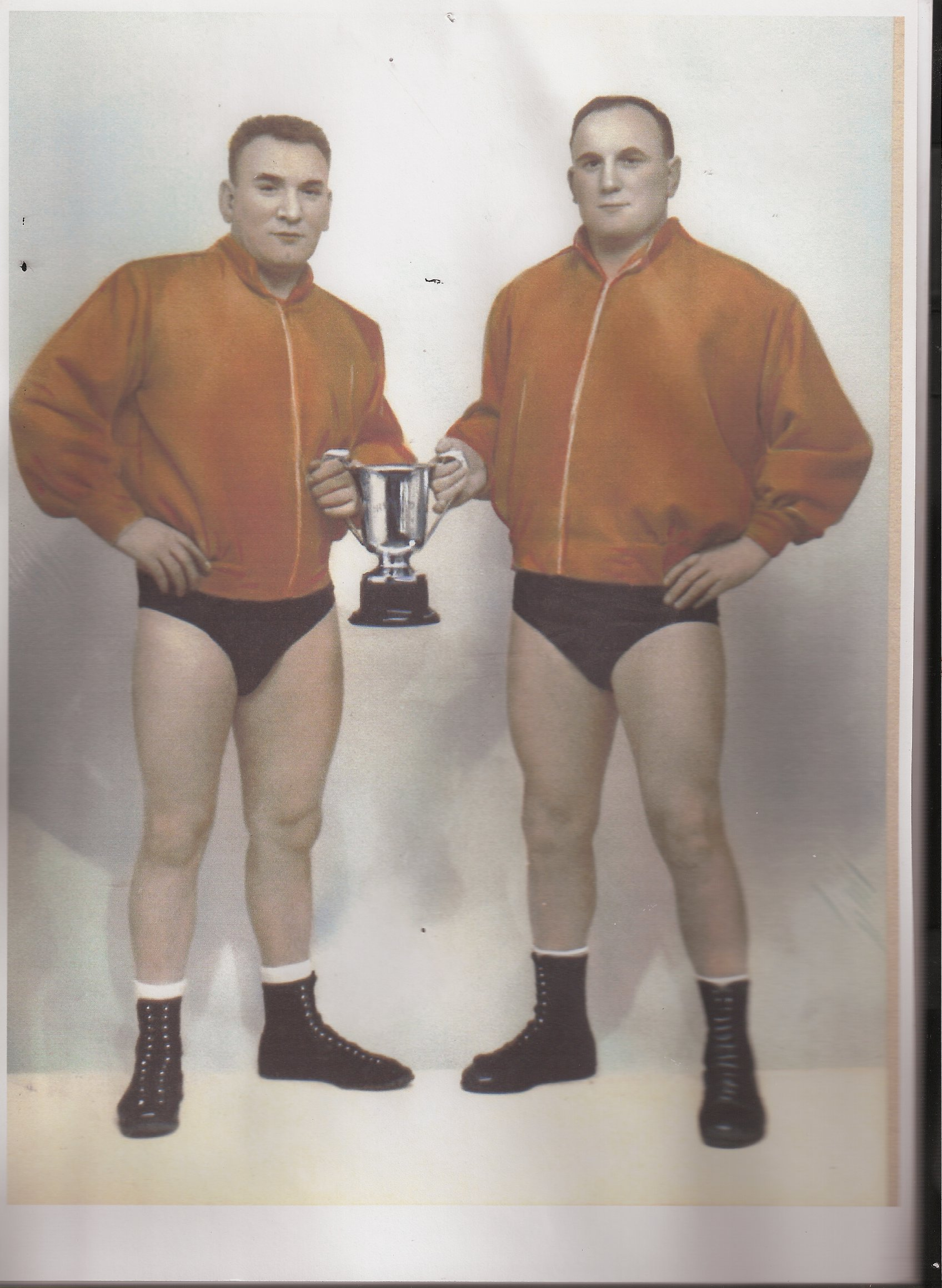 Alf and Ken Cadman