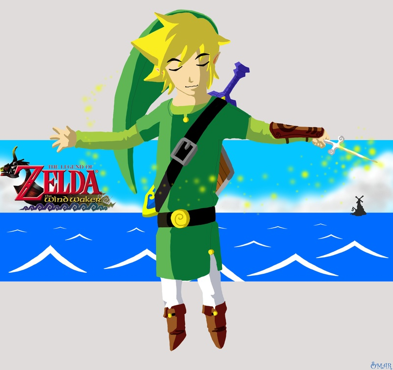 Adult Link- WindWaker