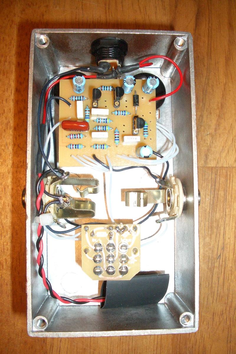amerkin fuzz guts rh guitarpcb com 3PDT Wiring Motor Alternative 3PDT Wiring