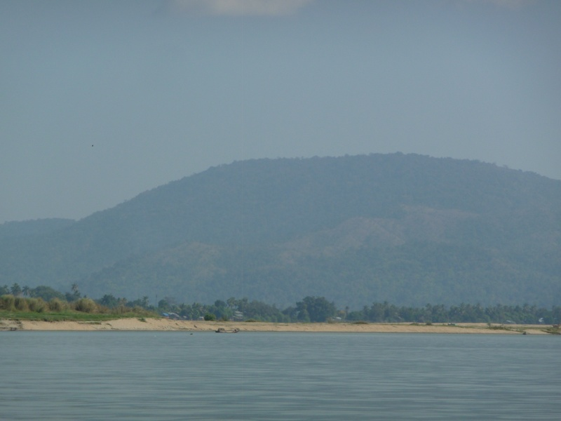 Upriver from Mandalay to Shwegu.