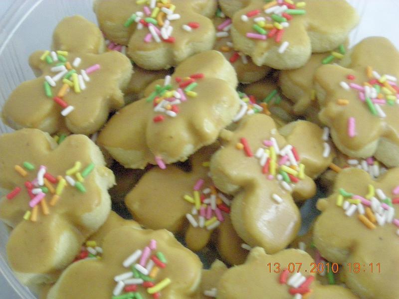 Biskut Peanut Butter - RM25/50pcs