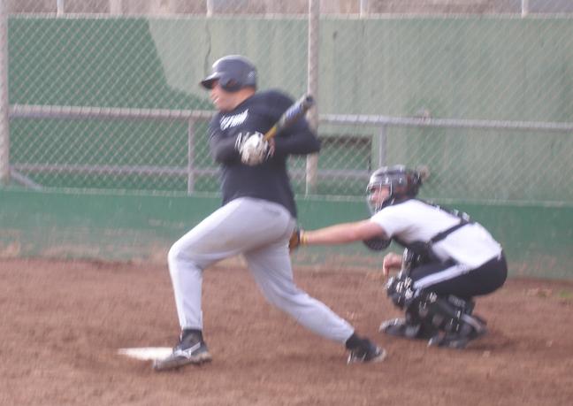 John Collins (batter), Peter Liebman (catcher)