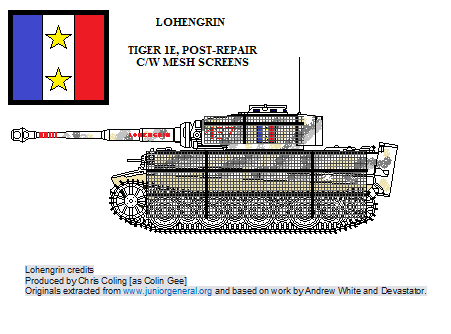 Tiger Ie - Lohengrin