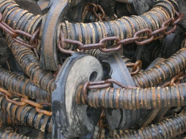Rubber and Chain