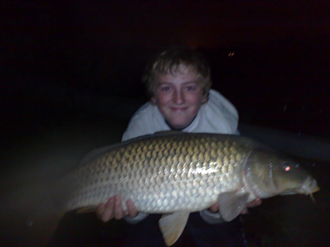 Aaron 17lb on the Pit