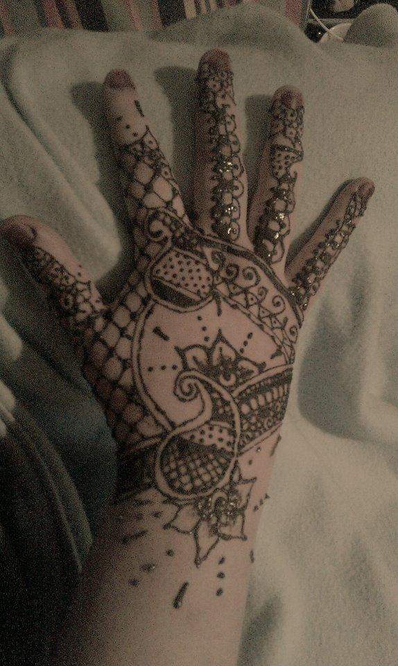 Small Bridal Hand