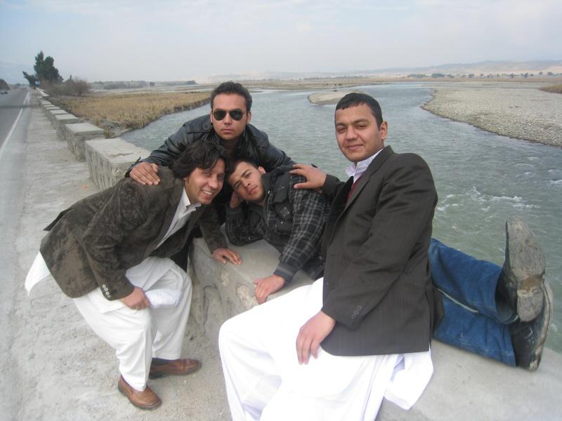 Samim, Mujtaba, Fasih and Farden