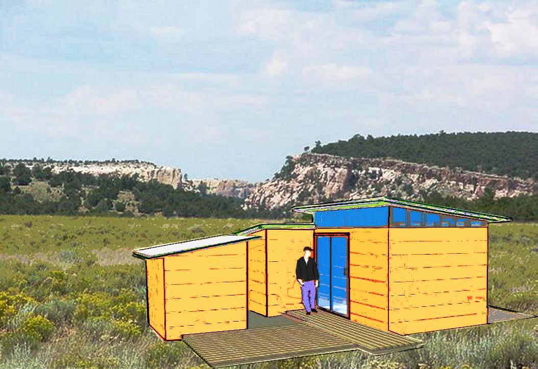 Lodge & observatory concept