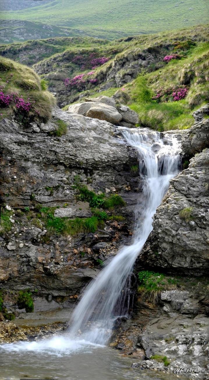 Cascada pe Jepii Mici (panorama)