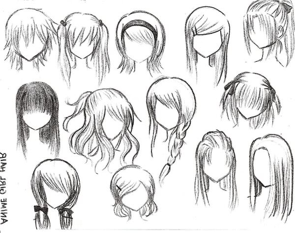 Back to AlbumAnime Girl Hairstyles Long