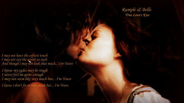 Rumbelle Kiss