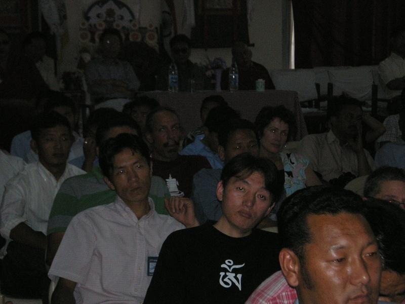 Media people enjoying our film
