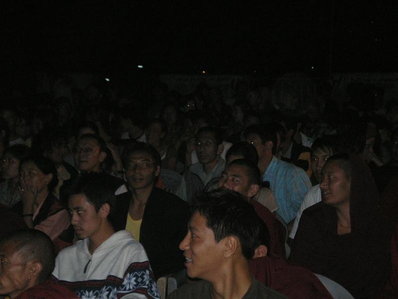 Public screening of 'Richard Gere is My Hero' at Dharamsala.