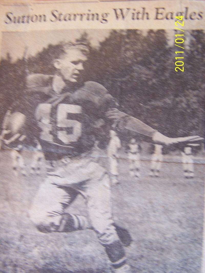 1950 eagles joe sutton